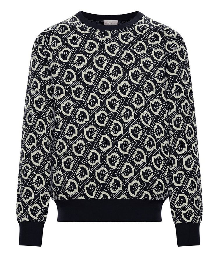 Graphic Cotton Sweater image 0