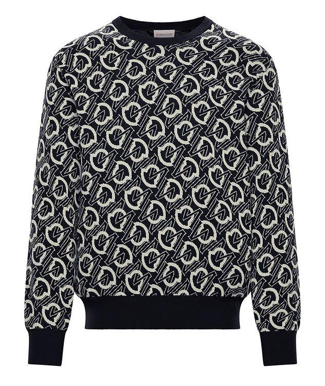 Graphic Cotton Sweater picture 1