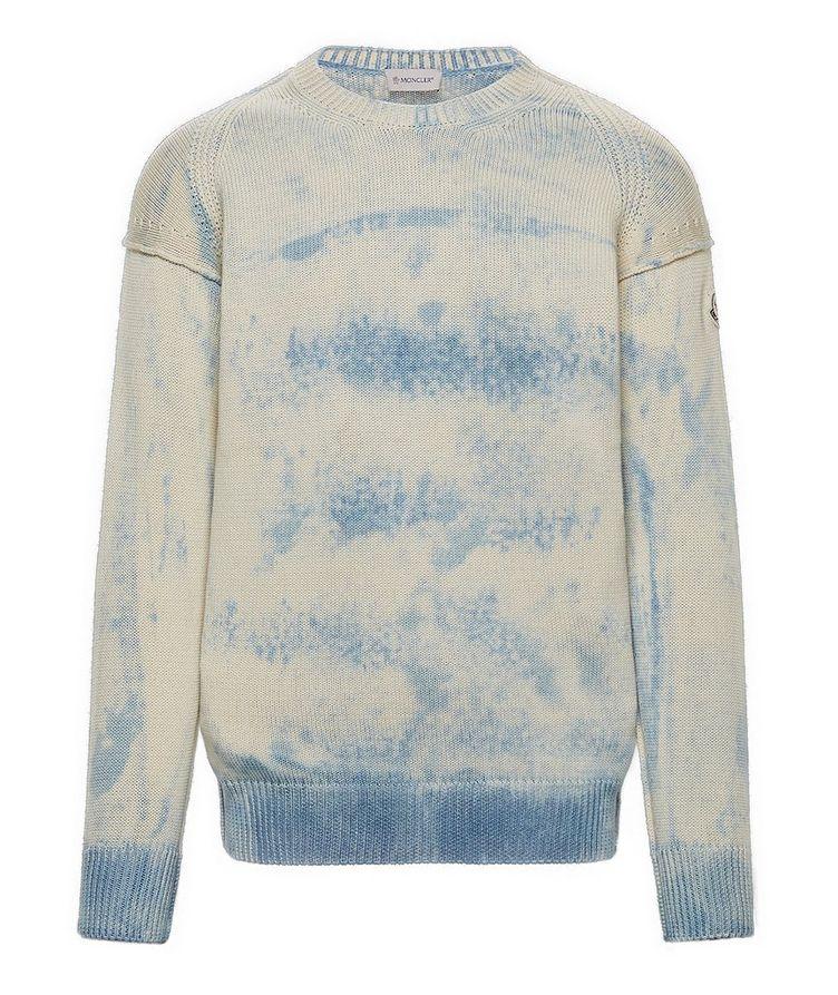 Oversized Tie-Dye Sweater image 0