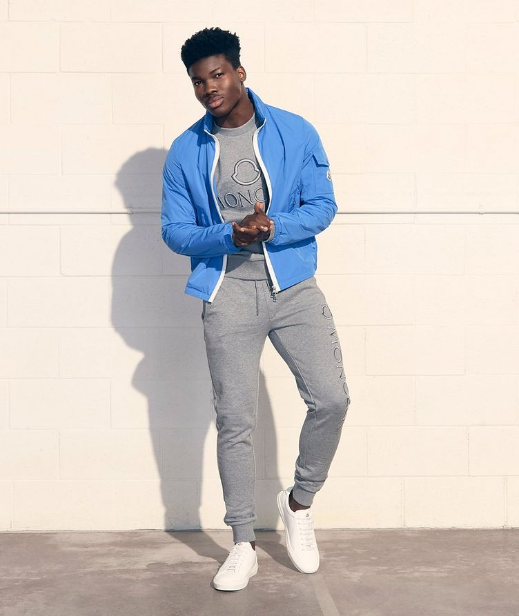 Cotton French Terry Joggers image 1