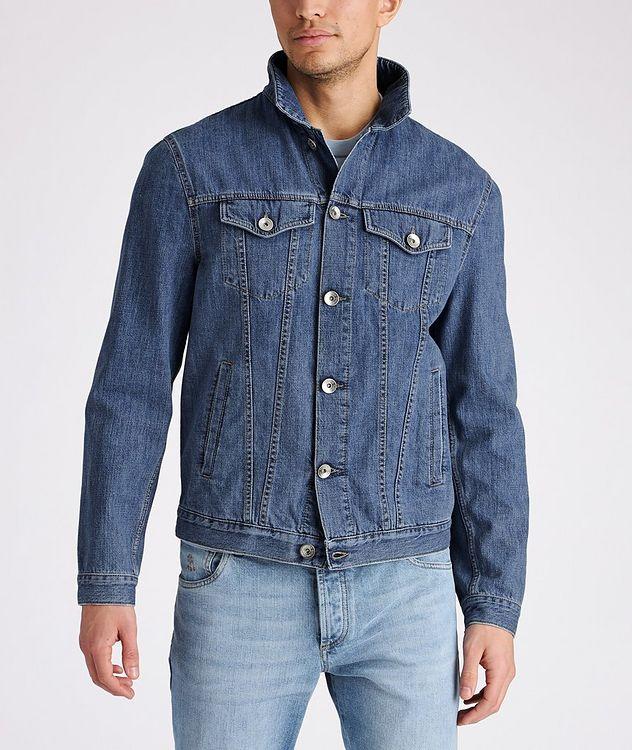 Cotton Denim Jacket picture 2