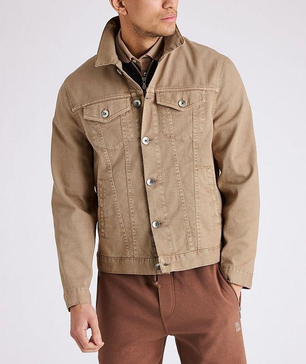 Stretch-Cotton Denim Jacket picture 2