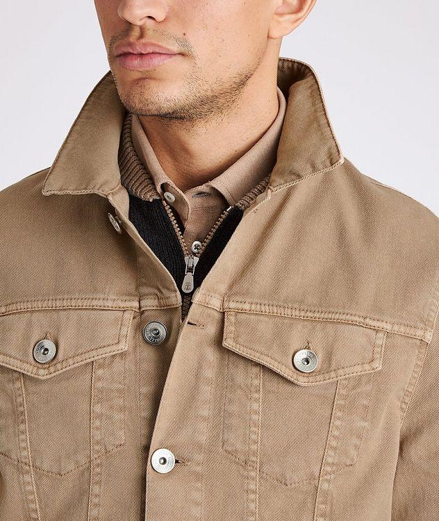 Stretch-Cotton Denim Jacket picture 4