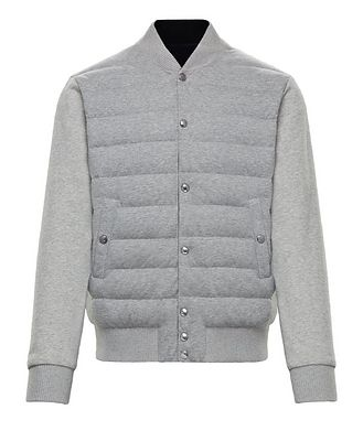 Moncler Quilted Bomber Jacket