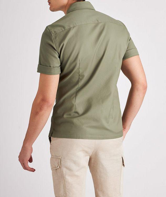 Short-Sleeve Cotton Safari Shirt picture 3