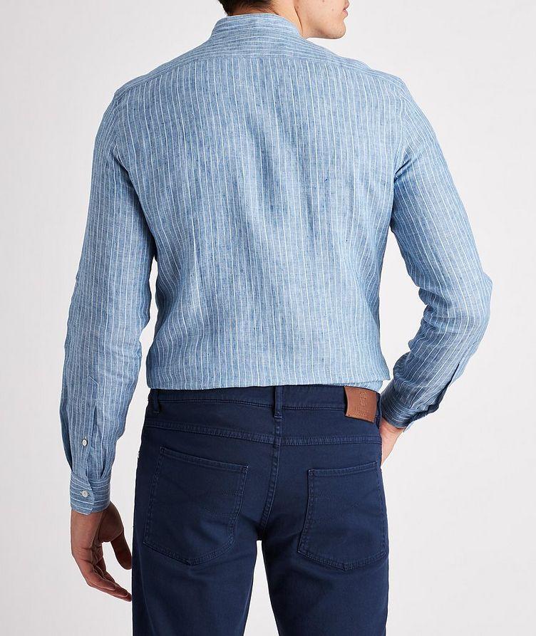 Striped Linen-Blend Shirt image 2
