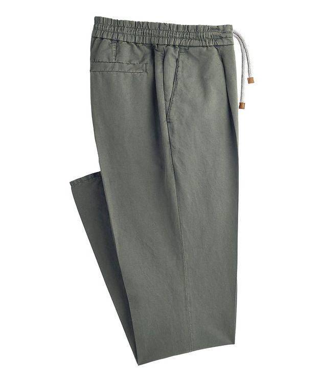 Linen-Cotton Drawstring Pants picture 1