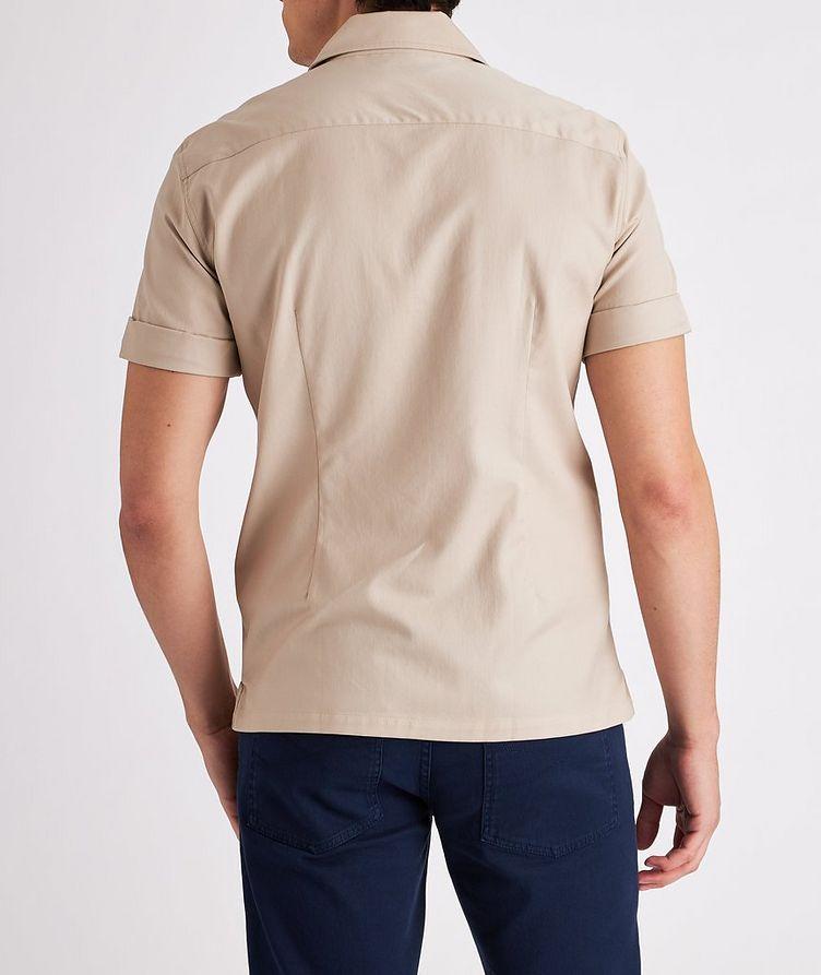 Short-Sleeve Cotton Safari Shirt image 2