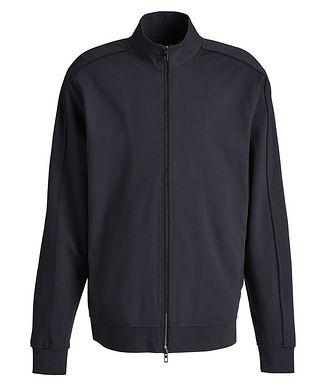 MASAI UJIRI x PATRICK ASSARAF Navy Zip-Up Jersey Track Jacket