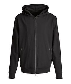MASAI UJIRI x PATRICK ASSARAF Black Zip-Up Jersey Hoodie