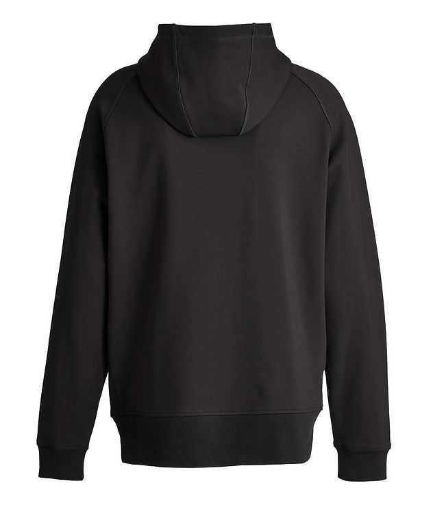 Black HUMANITY Jersey Hoodie picture 3