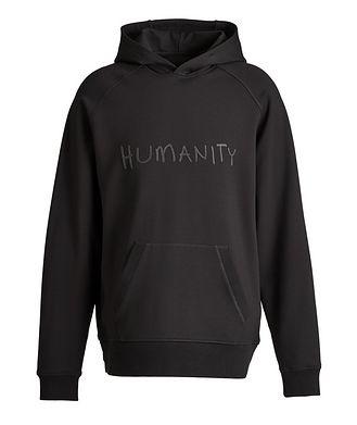 MASAI UJIRI x PATRICK ASSARAF Kangourou Humanity en jersey, Noir