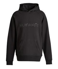 MASAI UJIRI x PATRICK ASSARAF Black HUMANITY Jersey Hoodie