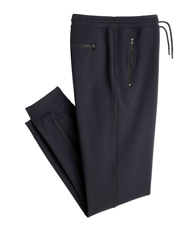 Navy Jersey Track Pants picture 1