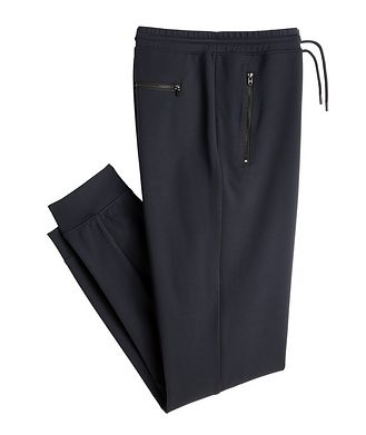 MASAI UJIRI x PATRICK ASSARAF Pantalon sport en jersey, Bleu marine