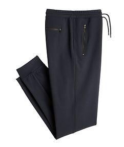 MASAI UJIRI x PATRICK ASSARAF Navy Jersey Track Pants