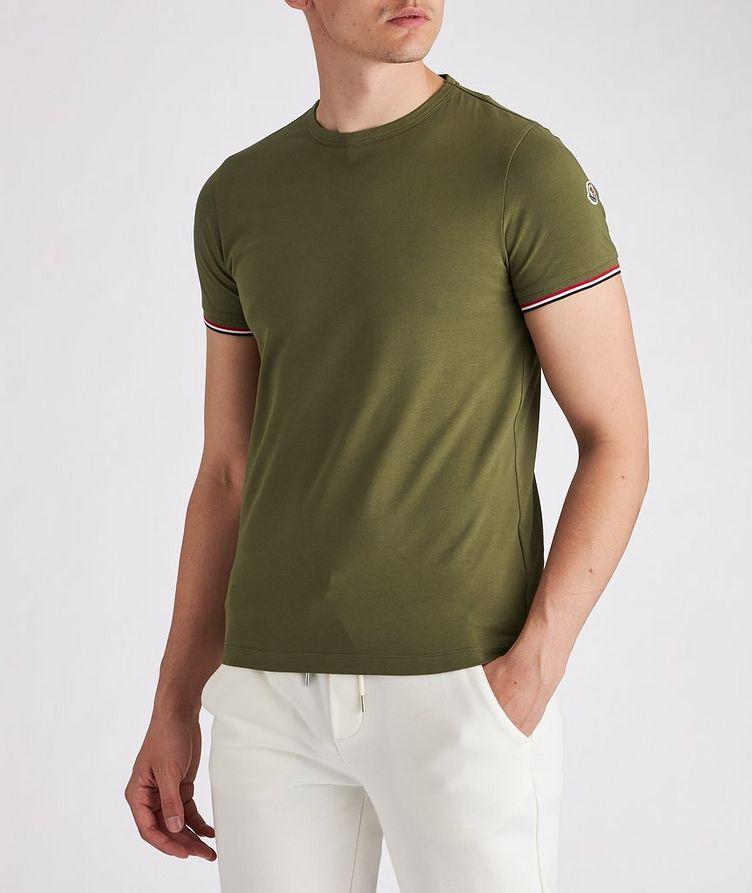 Slim-Fit Maglia Stretch-Cotton T-Shirt image 1