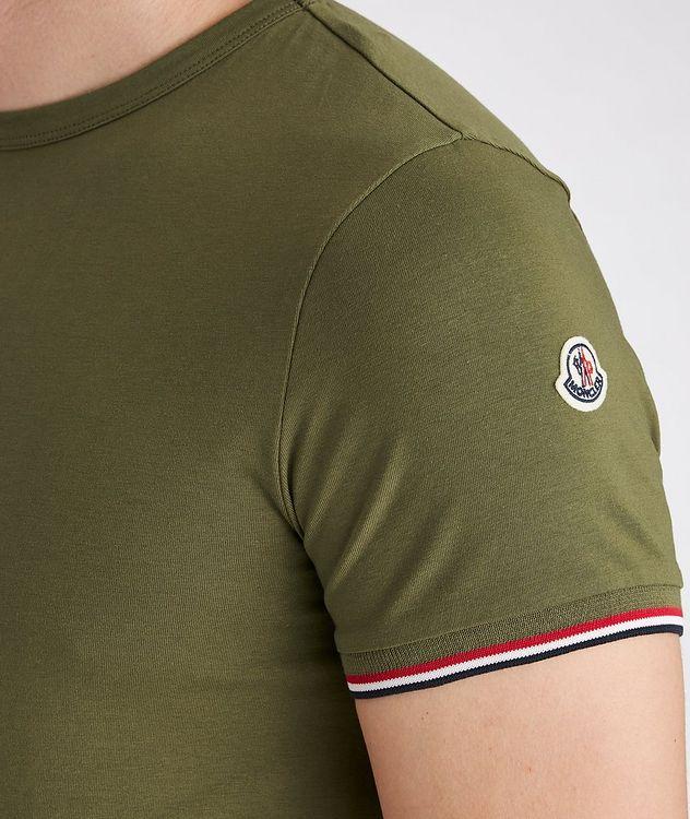 Slim-Fit Maglia Stretch-Cotton T-Shirt picture 3