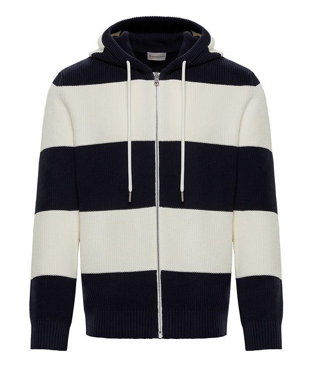 Striped Zip-Up Hoodie picture 1