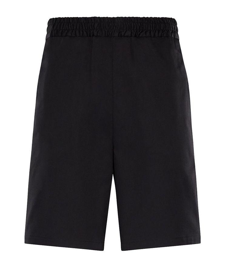 Stretch-Cotton Shorts image 0