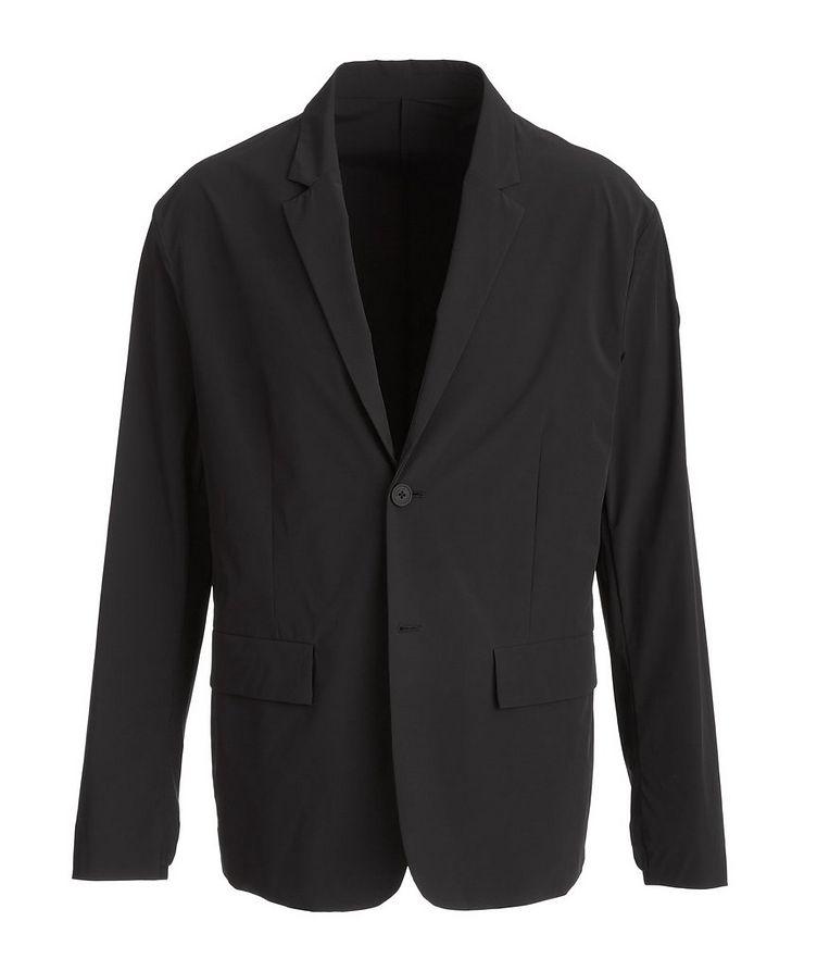 Matt Black Choux Tech-Stretch Sports Jacket image 0
