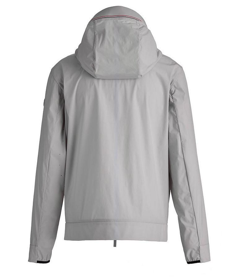 Matt Black Givray Stretch-Nylon Jacket image 1