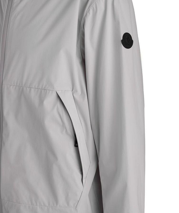Matt Black Givray Stretch-Nylon Jacket image 2