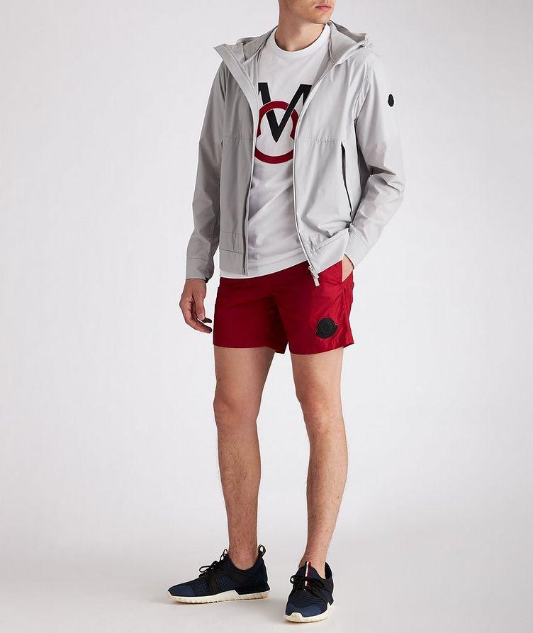 Matt Black Givray Stretch-Nylon Jacket image 4