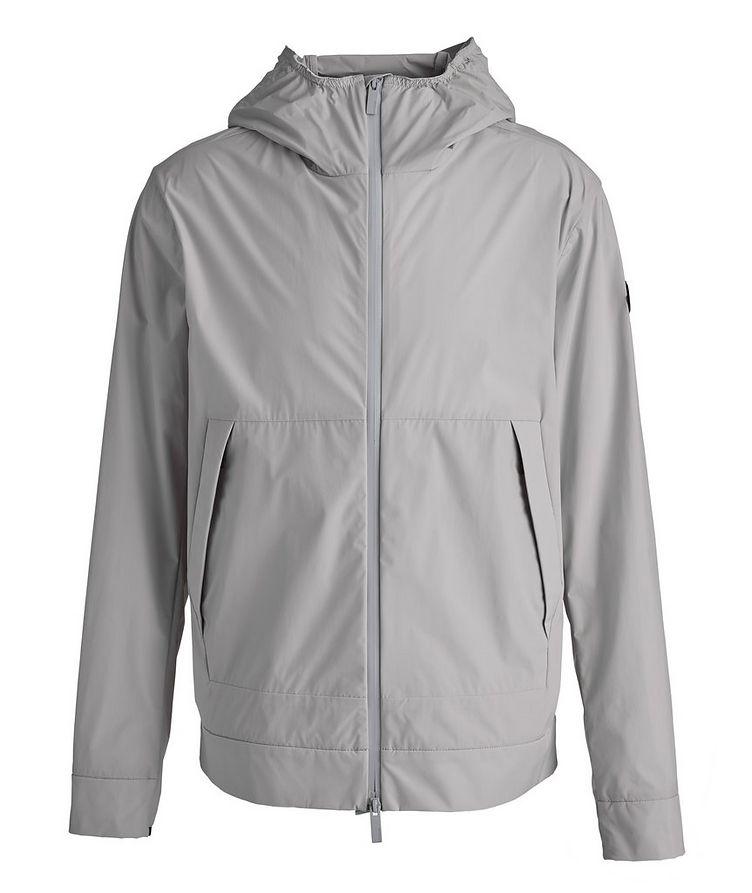 Matt Black Givray Stretch-Nylon Jacket image 0