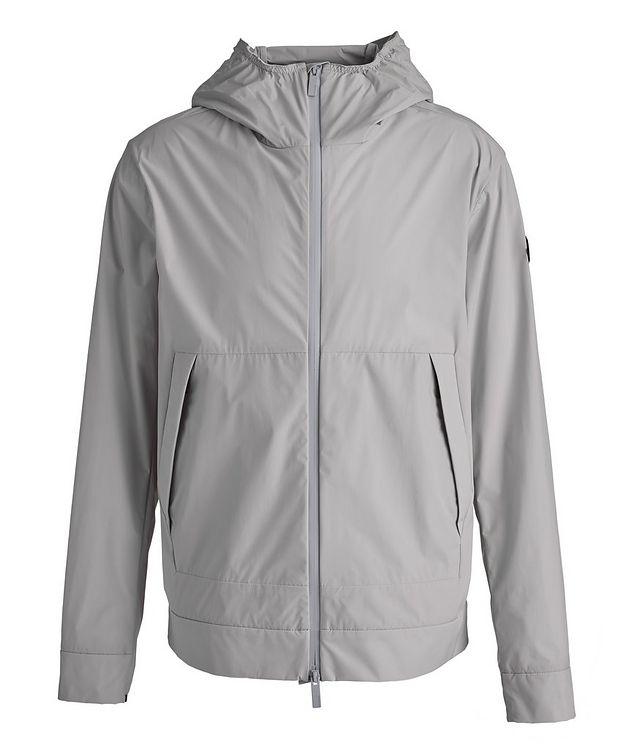 Matt Black Givray Stretch-Nylon Jacket picture 1