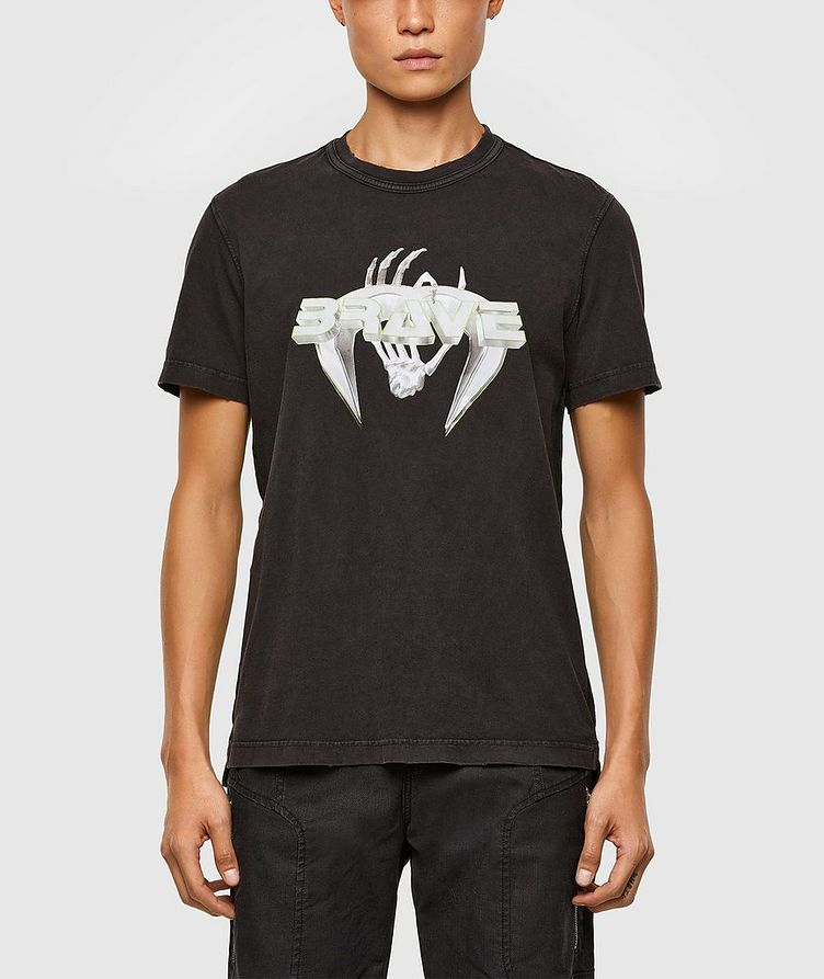 Brave Print T-Shirt image 0