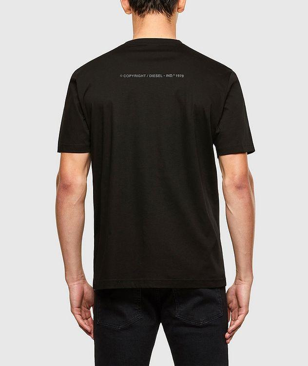 Tonal Fishbone Print T-Shirt picture 2
