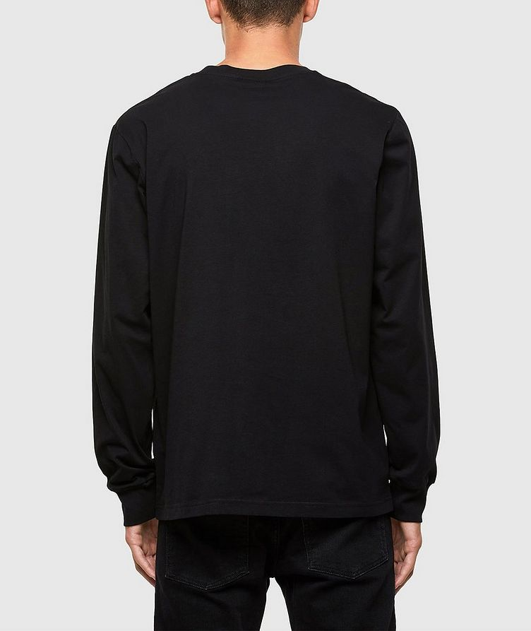 Monster Claw Print Long Sleeve T-Shirt image 1