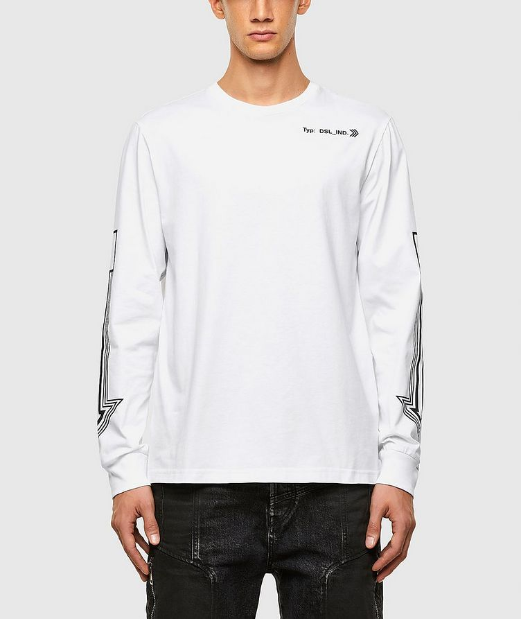 Arrow Print Long Sleeve T-Shirt image 0