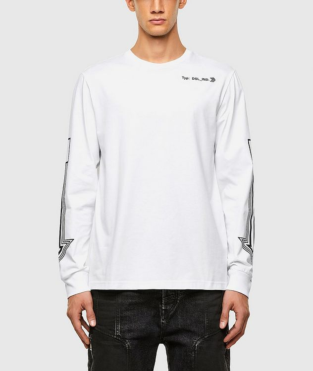 Arrow Print Long Sleeve T-Shirt picture 1