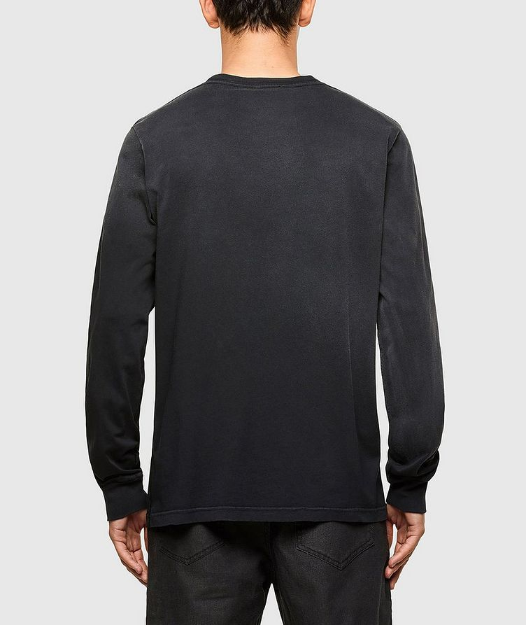 Faded Treatment Long Sleeve T-Shirt image 1