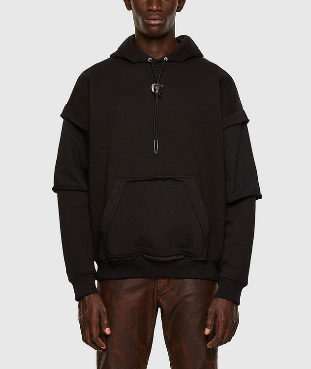 Cut-Out Pocket Hoodie picture 1