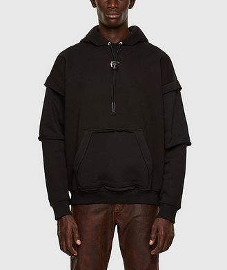 Diesel Cut-Out Pocket Hoodie