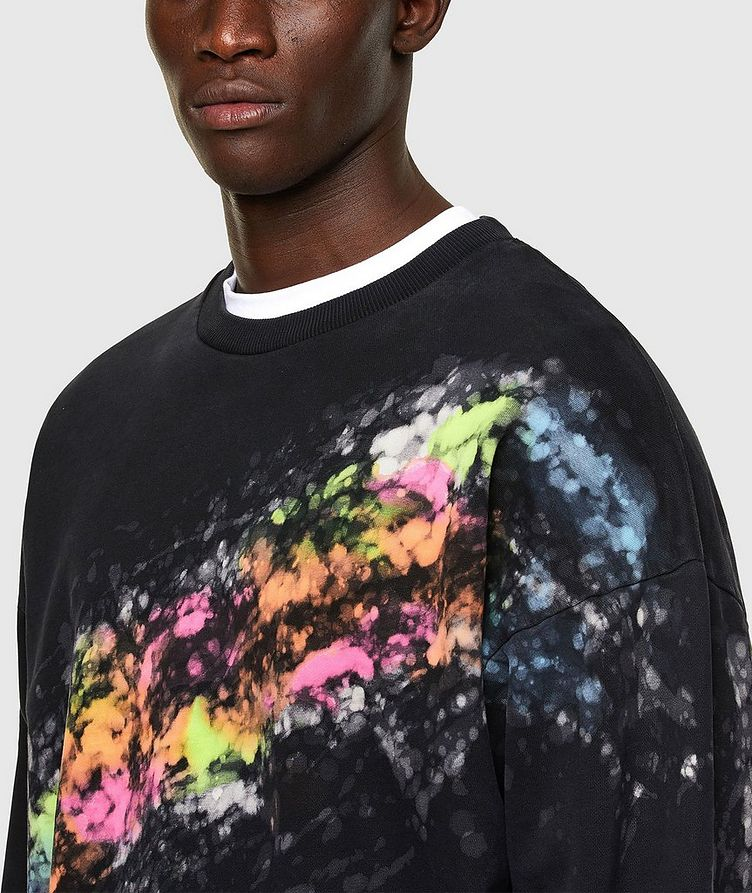 Splashed Effect Sweater image 2