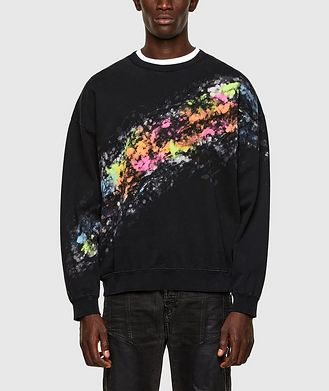 Diesel Splashed Effect Sweater