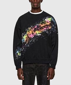 Diesel Splashed Effect Sweater