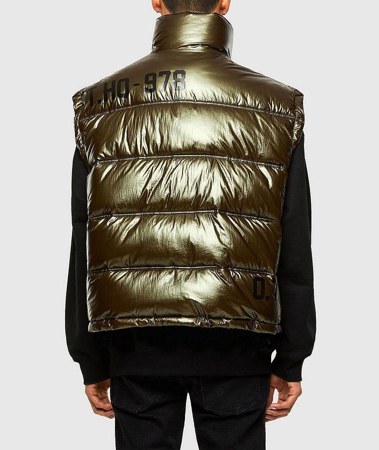 Quilted Metallic Vest image 1