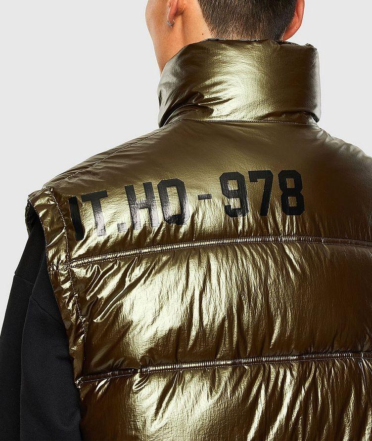 Quilted Metallic Vest image 2