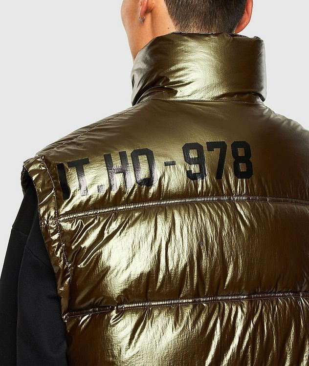 Quilted Metallic Vest picture 3