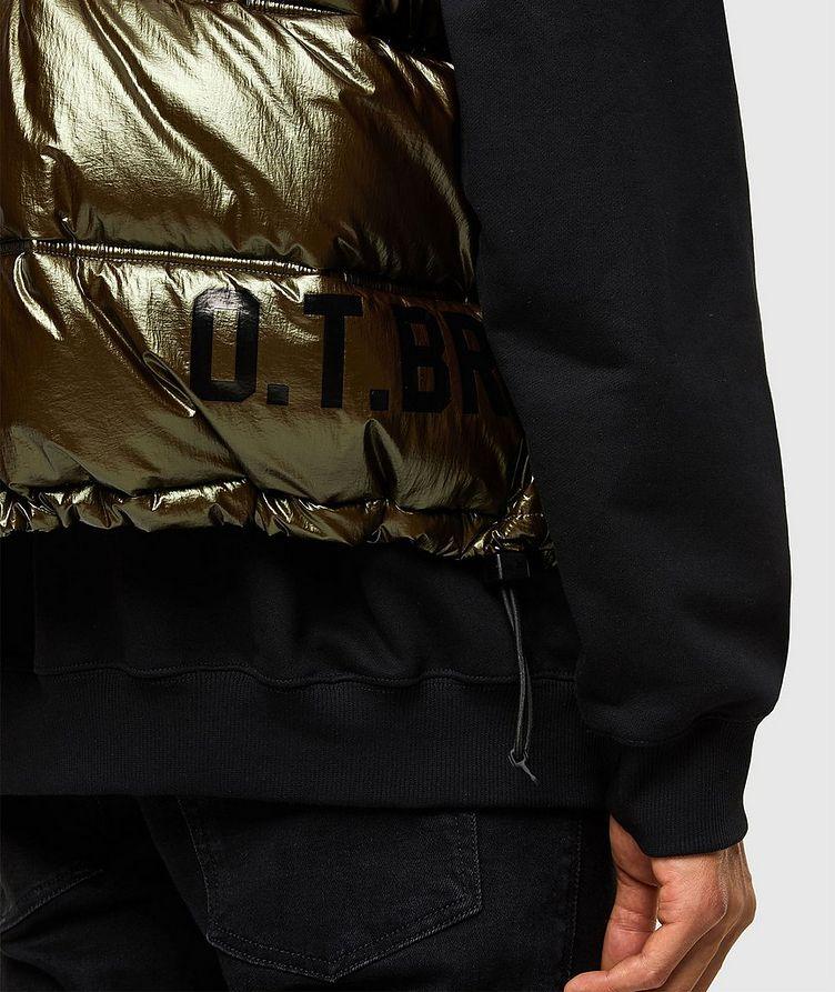 Quilted Metallic Vest image 3
