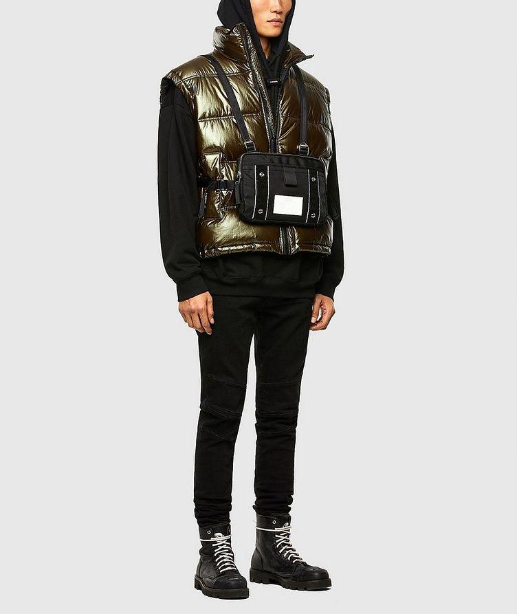 Quilted Metallic Vest image 5