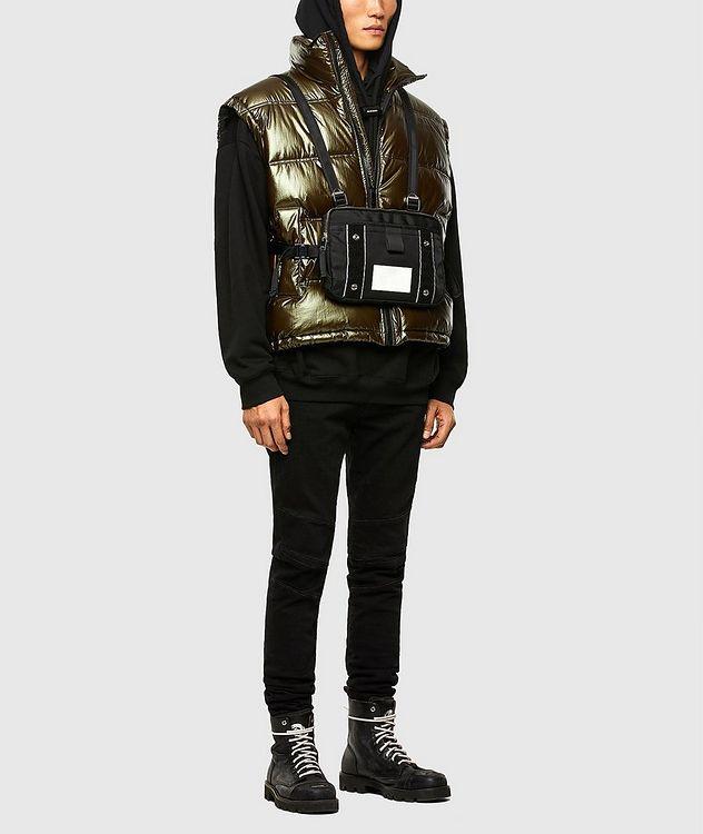 Quilted Metallic Vest picture 6