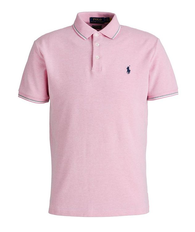 Slim-Fit Stretch Mesh Polo picture 1