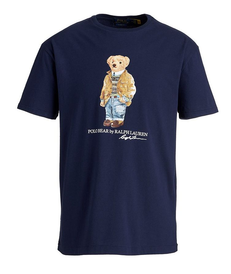 Polo Bear Cotton T-Shirt image 0