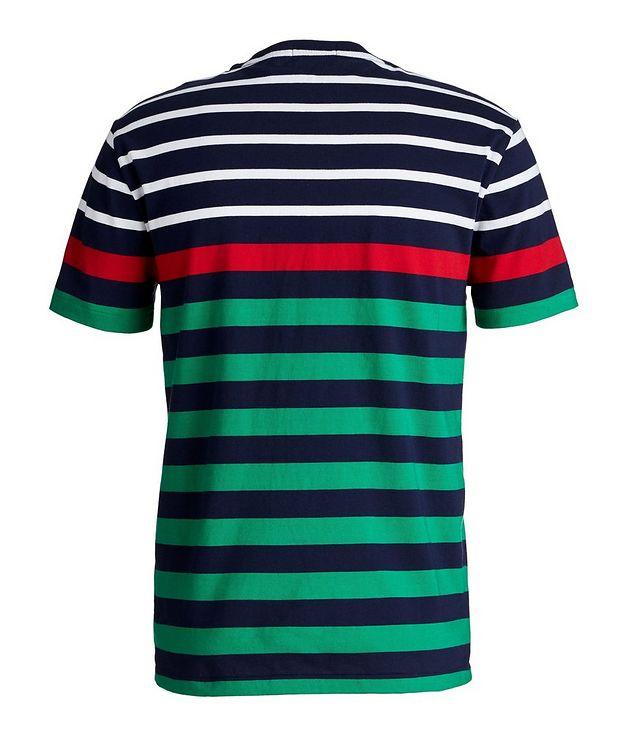 Slim-Fit Striped Cotton T-Shirt picture 2